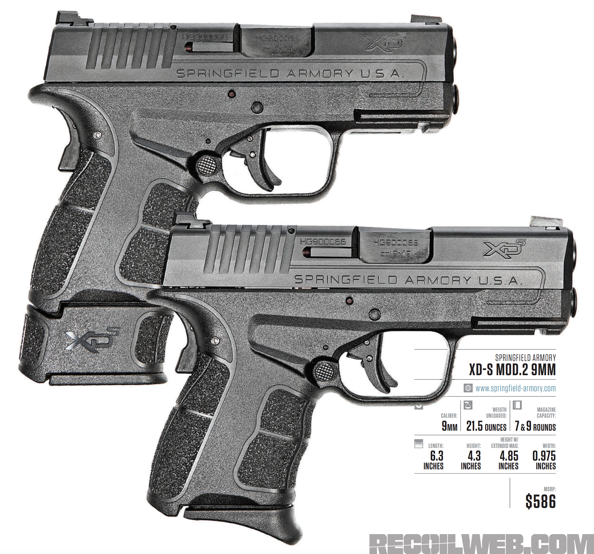 Review: Springfield Armory XD-S Mod 2 9mm | RECOIL