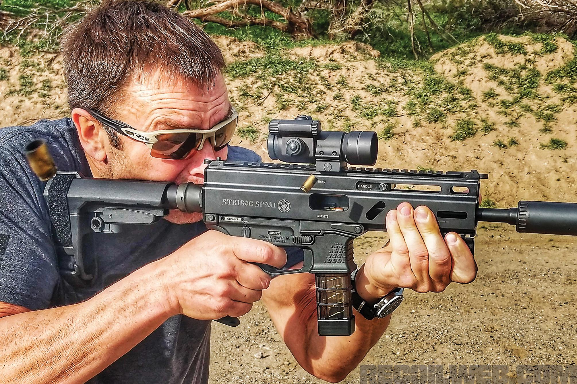 Grand Power Stribog SP9A1 9mm 8 20rd Black