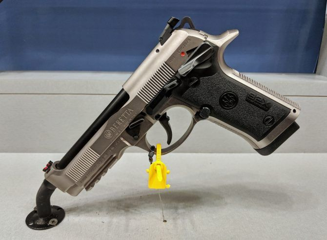 The Beretta 92X Performance Pistol