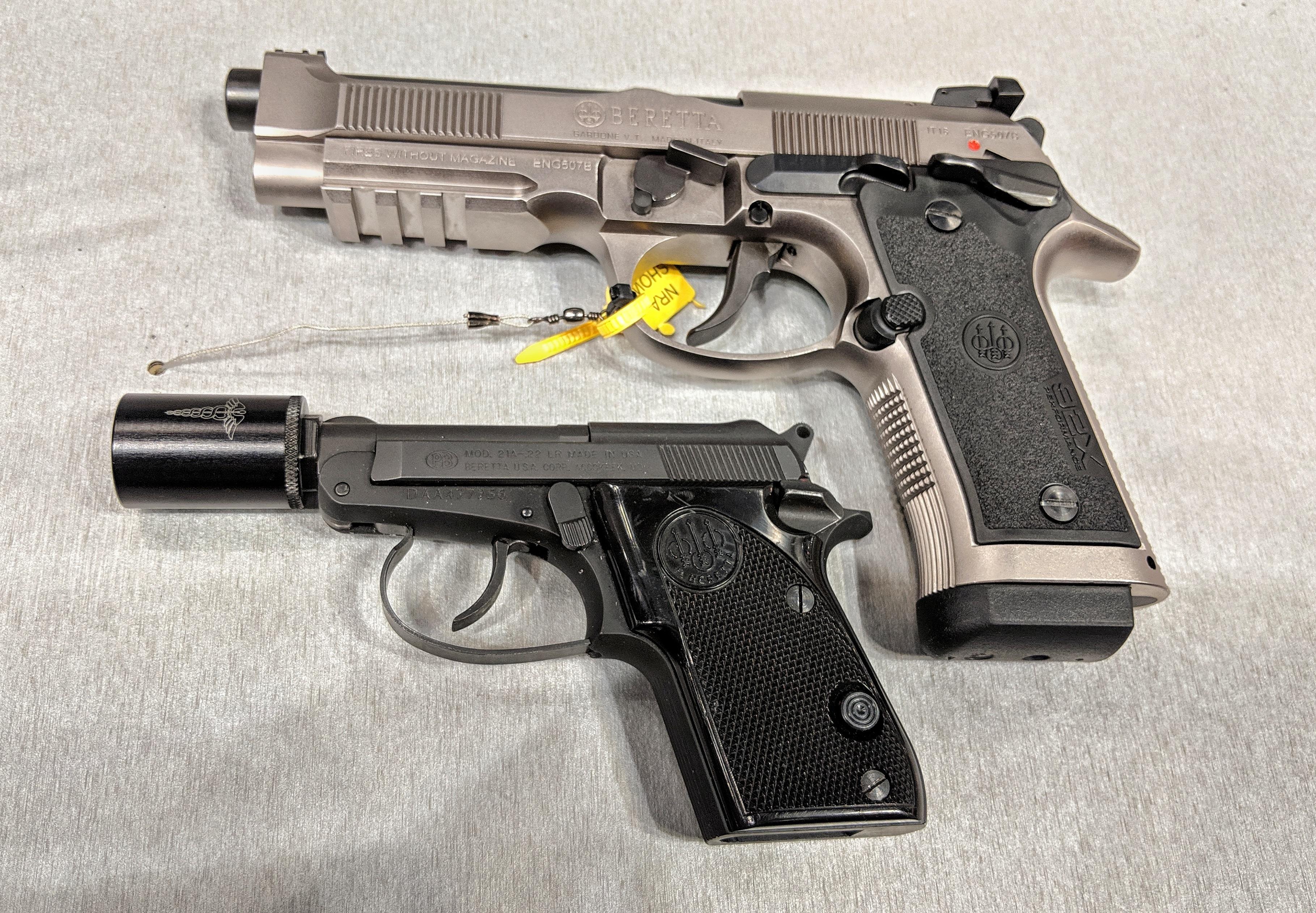 Dating Beretta pistoler