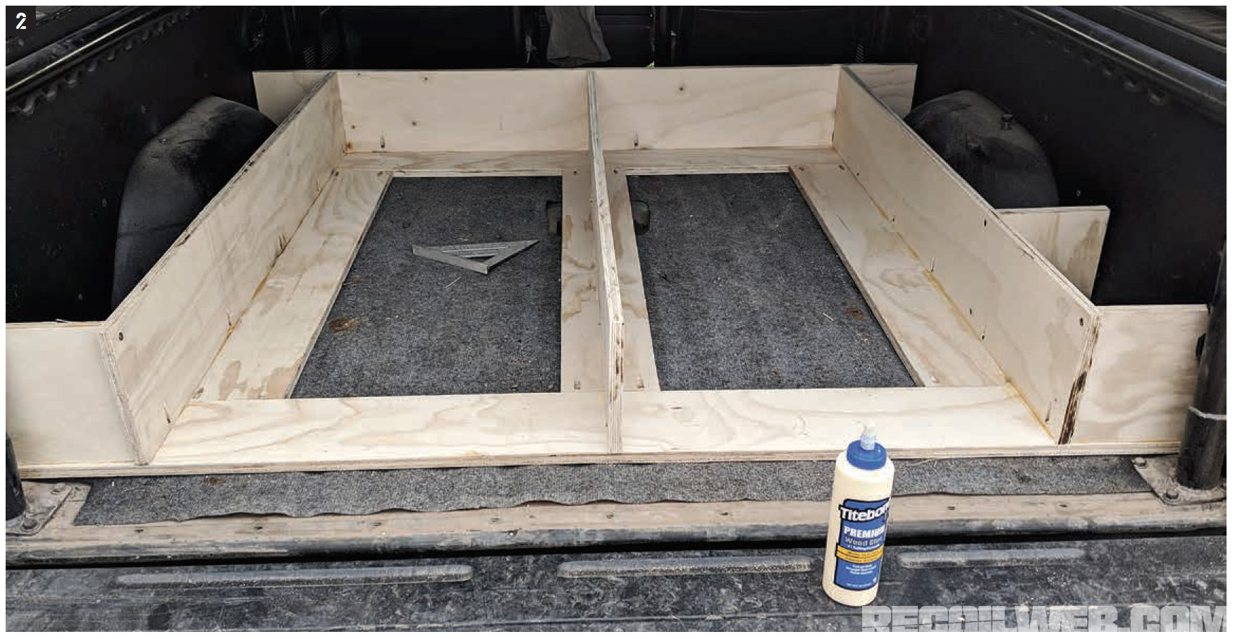 Diy Truck Drawers For Guns And Gear Recoil