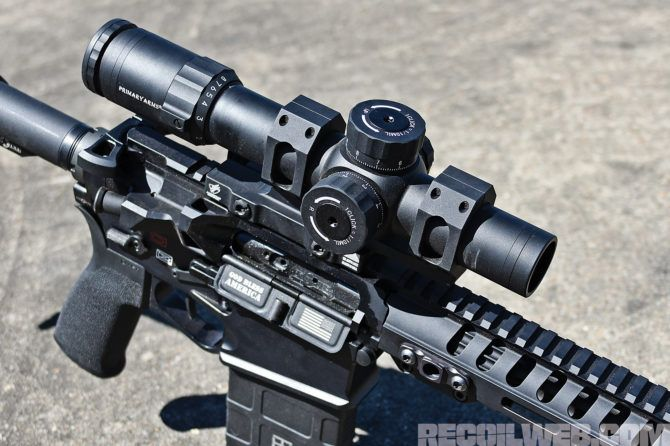 Primary Arms Platinum 1-8x24mm Scope