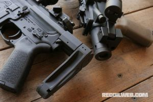 New Super-Short PDW Stock and Brace System from Dead Foot Arms