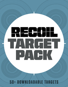Enter Your E-Mail to Receieve a Free 50-Target Pack from RECOIL!