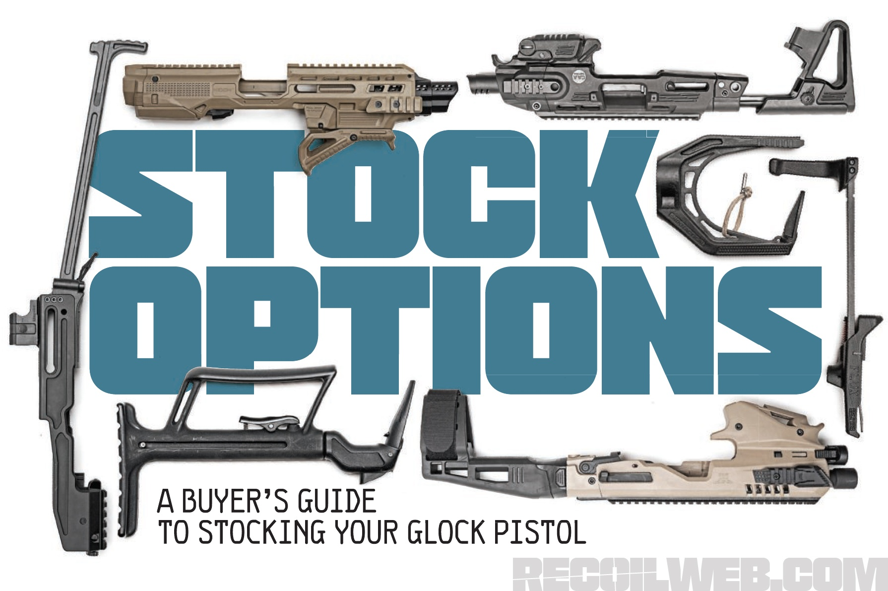 Buyer's Guide: Stocks for Your Glock Pistol | RECOIL