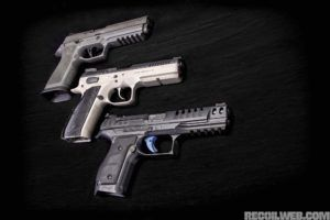 Comparing Three of the Latest  Heavyweight Pistols on the Market