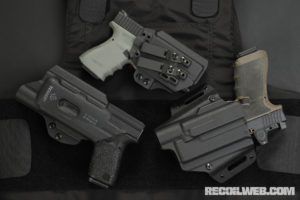 New Holsters from Tenicor for Glocks with Weaponlights – ARX SOL, CERTUM LUX, and MALUS SOL
