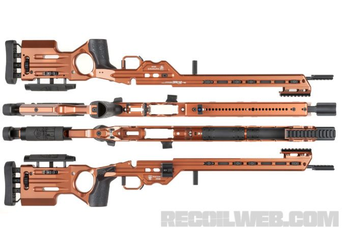 Masterpiece Arms Matrix rifle chassis