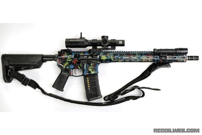 Hawaii 5.56 Custom AR-15 Build