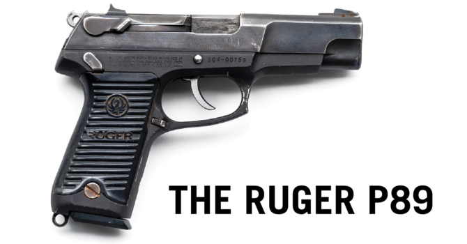 Ruger P89 Review: Like a 9mm Mullet