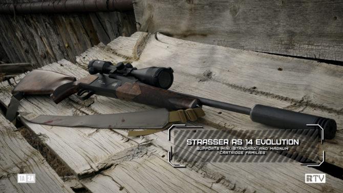 RECOILtv Gun Room: Strasser RS 14 Evo