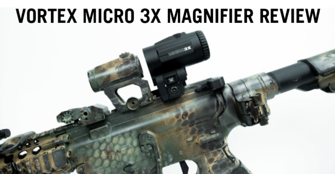 Vortex Micro 3x Magnifier Review: How Micro Is It?