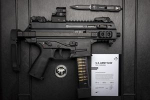 B&T U.S. Army SCW Limited Commemorative Edition APC9K