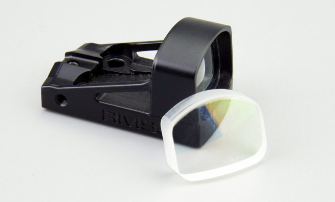 shield sights glass