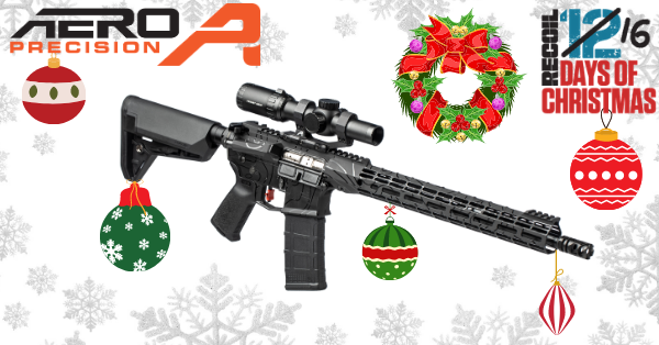 12 Days of Christmas 2020: Day 8 – Custom Aero Precision M4A1 Giveaway