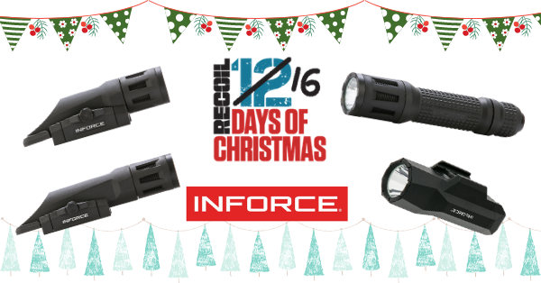 12 Days of Christmas 2020: Day 2 – Inforce 4-piece Tactical Lighting Package Giveaway