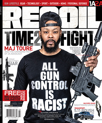 recoil 53 Black Guns Matter Maj Toure Editors Letter