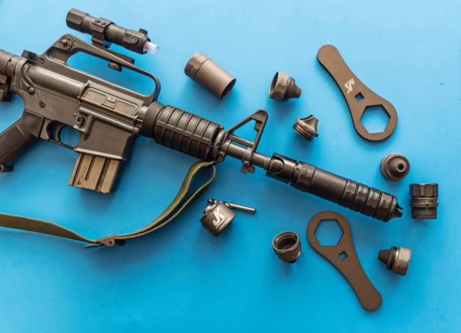 JK Armament SBR PRO Cover