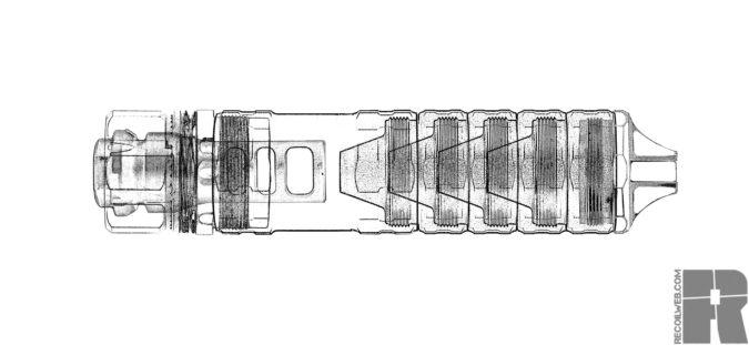 jk armament SBR PRO DIY Suppressor
