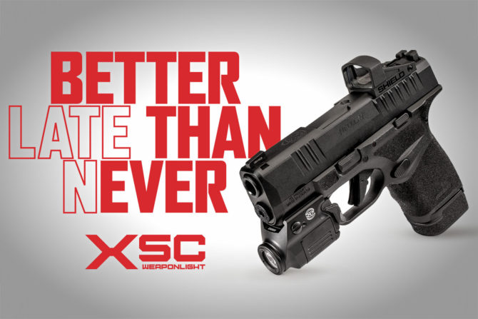 Surefire Releases XSC Weaponlight: For Real This Time