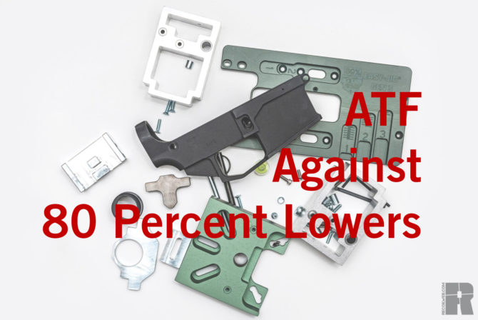 The 80 Percent Lower, the Ghost Gun, and the ATF